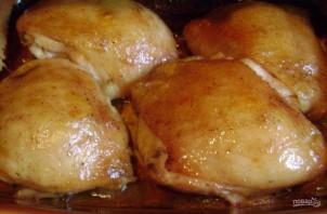 Куриные бедрышки в духовке - фото шаг 7
