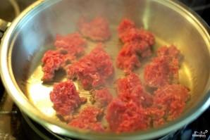 Макароны с мясом - фото шаг 2