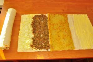 Лаваш с печенью говяжьей - фото шаг 2