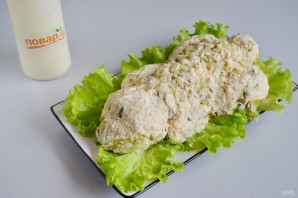 Пасхальный салат из курицы - фото шаг 8