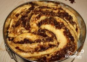 Пирог с финиками - фото шаг 8