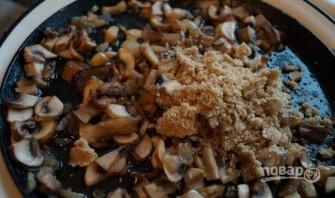 Салат с грибами, кальмарами и сыром - фото шаг 4