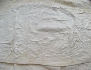 Лаваш с фаршем и сыром - фото шаг 5