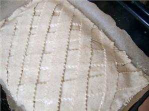 Пирог с рыбой в микроволновке - фото шаг 6