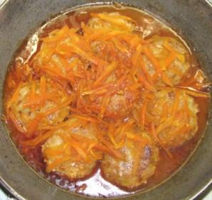 Рыбные тефтели в томатном соусе - фото шаг 9