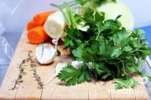 Суп с морковью, пастернаком и клецками - фото шаг 1