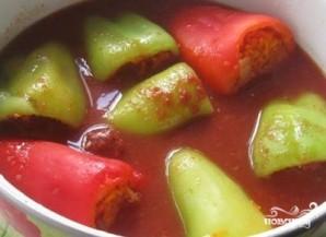 Болгарский перец с морковью - фото шаг 8