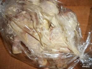Куриные ножки с рисом в рукаве - фото шаг 4