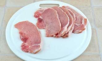 Котлета натуральная из свинины - фото шаг 2