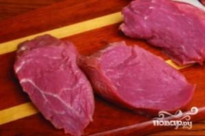 Отбивные из говядины в духовке - фото шаг 1
