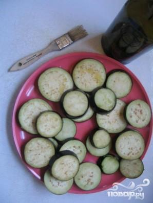 Сандвичи с жареными баклажанами - фото шаг 1