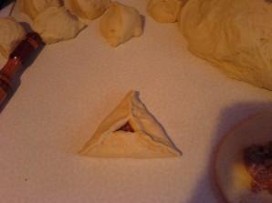 Треугольники с ветчиной - фото шаг 2