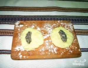 Постные картофельные зразы - фото шаг 4