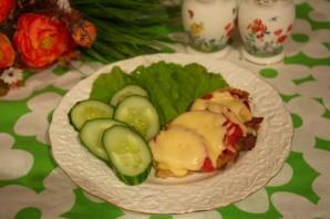 Отбивные с помидорами и сыром - фото шаг 6