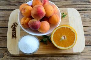 Абрикосовый джем с апельсином на зиму - фото шаг 1