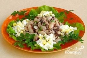 Салат из консервированной сардины - фото шаг 11