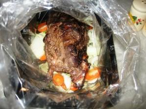Жареное мясо дикой козы - фото шаг 3