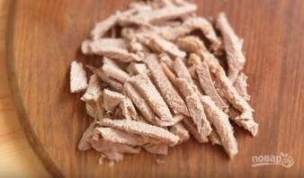Солянка сборная мясная с колбасой - фото шаг 3