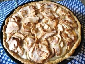 Цветаевский пирог с яблоками - фото шаг 6