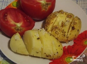 Картофель запеченный в пакете - фото шаг 4