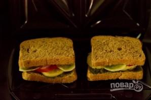 Горячий бутерброд с чатни - фото шаг 8