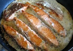 Тушеная красная рыба - фото шаг 5