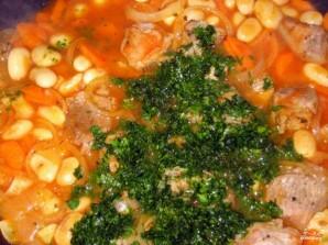 Фасоль с мясом - фото шаг 5