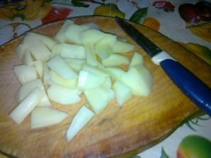 Вегетарианский суп с фасолью - фото шаг 2
