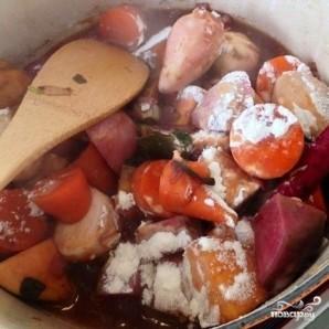 Тушеные овощи с красным вином и мускатным орехом - фото шаг 5