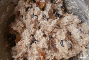 Творожный пирог с сухофруктами - фото шаг 1