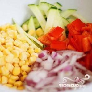 Летние жареные овощи - фото шаг 1