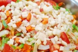 Жаркое из баранины с овощами   - фото шаг 8