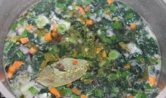 Суп со щавелем и крапивой - фото шаг 6