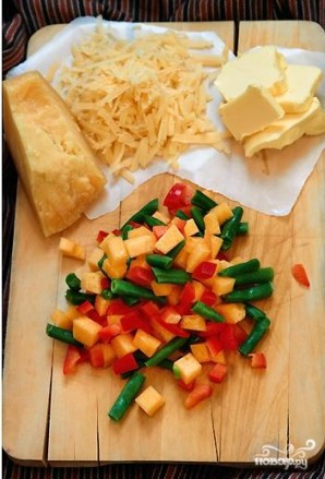 Омлет с овощами - фото шаг 2