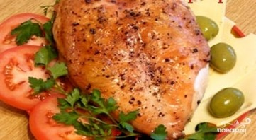 Куриная грудка в рукаве для запекания - фото шаг 5