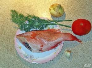 Суп из морского окуня - фото шаг 1