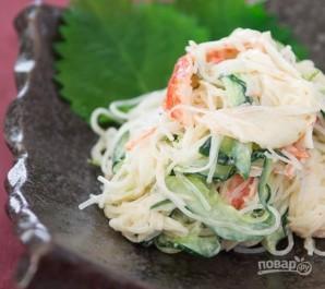Пикантный крабовый салат - фото шаг 3