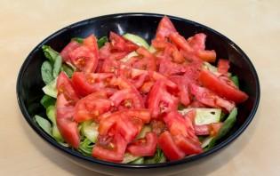 Легкий салат с курицей - фото шаг 6