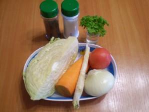 Вегетарианские щи - фото шаг 1