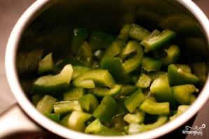 Зеленый сливочный соус - фото шаг 1