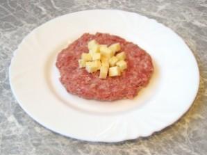 Котлеты с сыром - фото шаг 3
