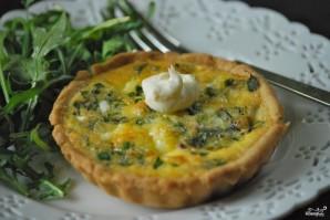 Тарталетки с творожным сыром и зеленью - фото шаг 6