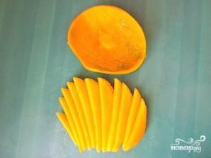 Салат с манго - фото шаг 3