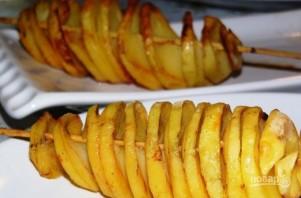 Спиральки из картофеля - фото шаг 4