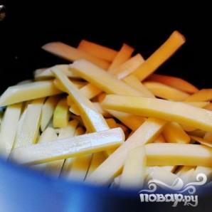 Картофель-фри по-французски - фото шаг 1