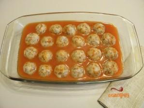 Тефтели с гречкой в духовке - фото шаг 5