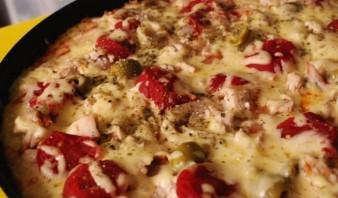 Куриная пицца - фото шаг 6
