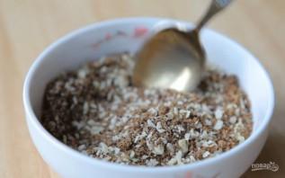 Бисквит с кофе и миндалем - фото шаг 1