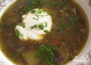 Суп из замороженных подберезовиков - фото шаг 10