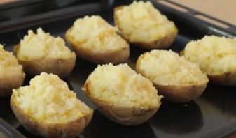 Картофель с брокколи в духовке - фото шаг 12